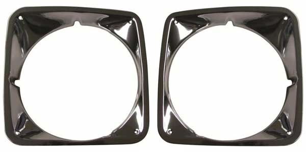 AMD 69-72 Chevy Pickup Blazer Sububan Headlamp Bezels - LH/RH (Sold as a Pair)