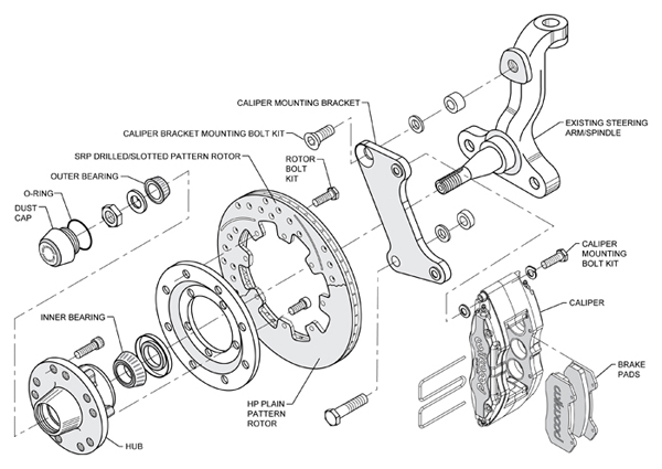 service manual  1964 plymouth fury brake drum structure