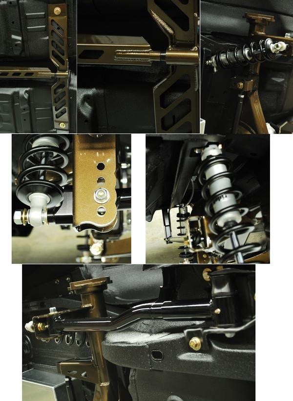 75 81 Camaro Speedtech Torque Arm Rear Suspension Kit 121366